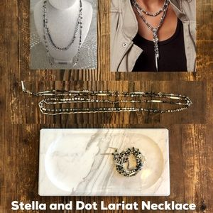 Stella and Dot Lariat Necklace NEW